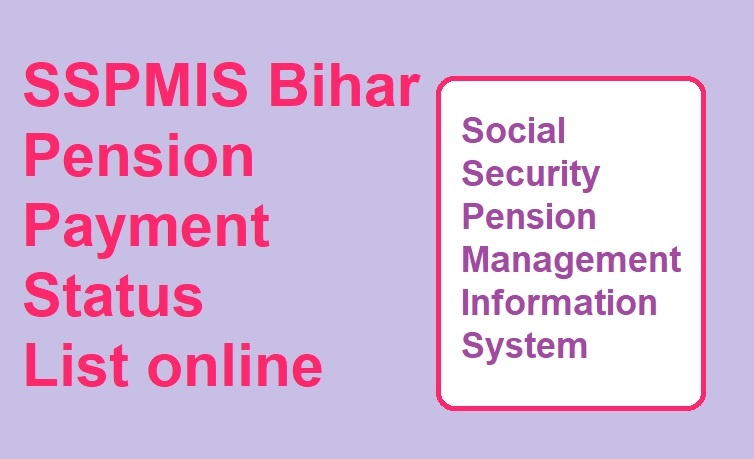 SSPMIS Payment Status 2020
