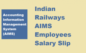 AIMS Portal Salary Pay Slip 2021