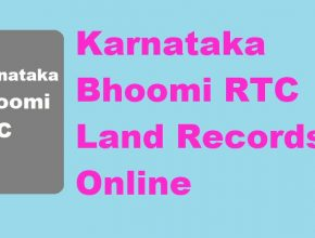 Bhoomi RTC Land Records online