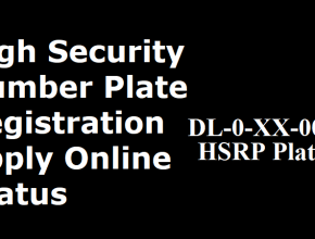 Delhi High Security Number Plate Registration