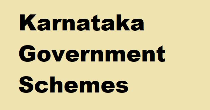 Karnataka Government Schemes
