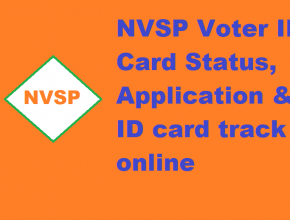 NVSP Voter ID Card Status Check