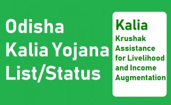 Kalia Yojana Name List 2020