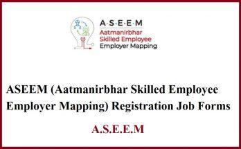 Aseem online registration