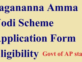 AP Amma Vodi Application Form