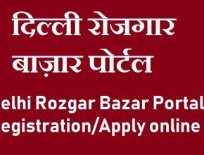 Delhi Rojgar Bazar Portal