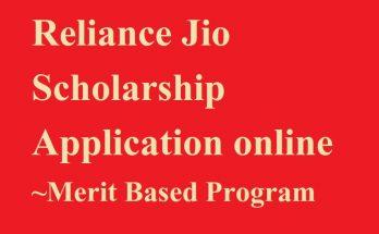 Jio Scholarship 2020-21
