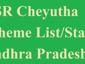 YSR Cheyutha Final List 2020