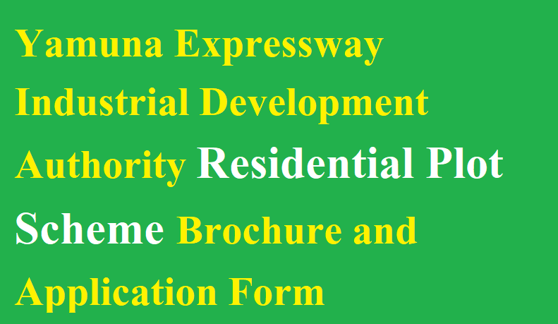 Yamuna Expressway Residential Plot Scheme