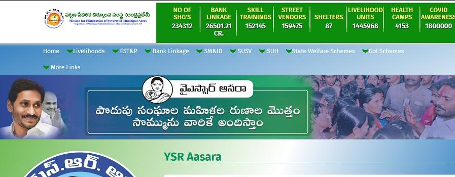 APMEPMA YSR Asara Online Apply