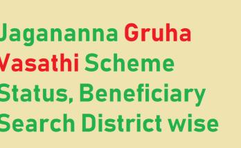 YSR Gruha Vasathi Status 2020-21