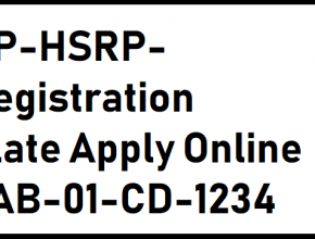 Apply online for UP HSRP