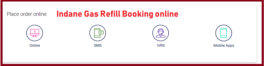 Indane Gas Refill booking