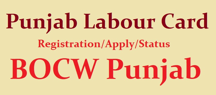 Punjab Labour Card Registration
