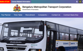 BMTC Bus Pass Application online