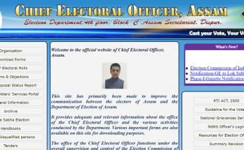 CEO Assam pdf voter list