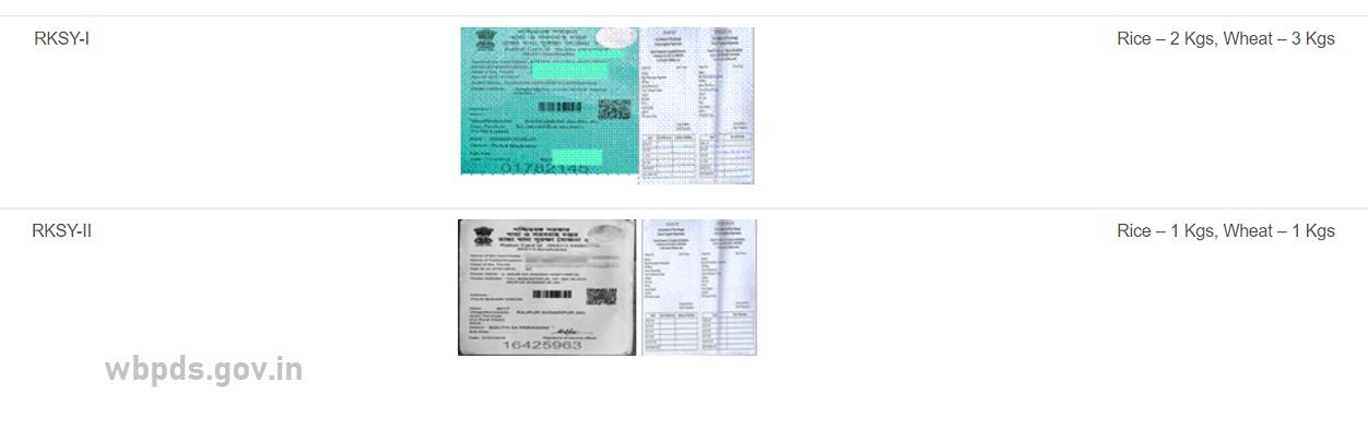 WBPDS Khadya Sathi ID Card Status 2021
