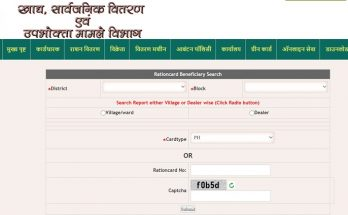 Jharkhand Ration Card Beneficiary Search 2021