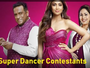 Super Dancer Chapter 4 Contestants 2021