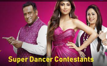 Super Dancer Chapter 4 Contestants 2021