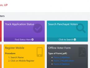 UP Gram Panchayat Voter Parchi 2021