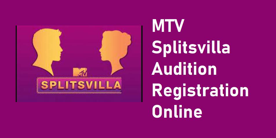 MTV Splitsvilla X4 Registration 2021