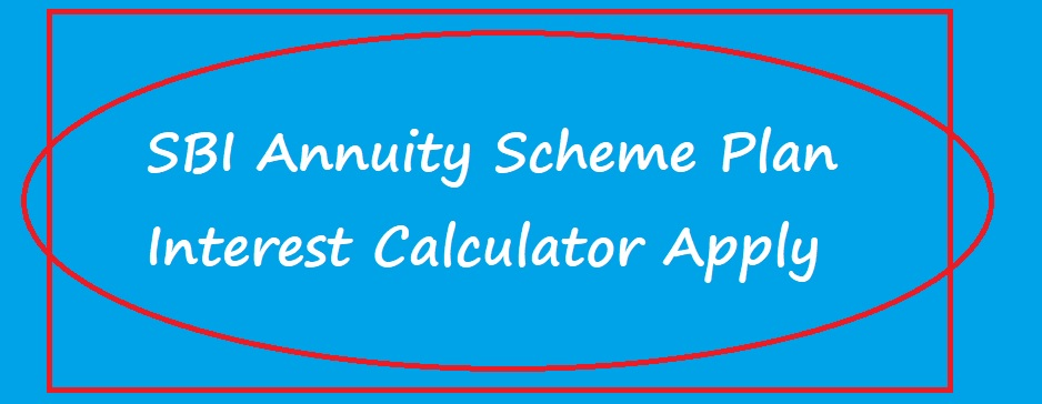 SBI Annuity Scheme Plan