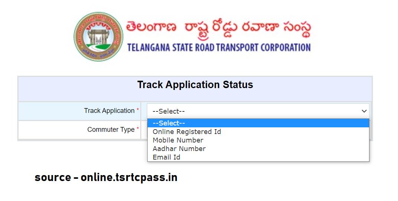 TS Bus Pass Track Application