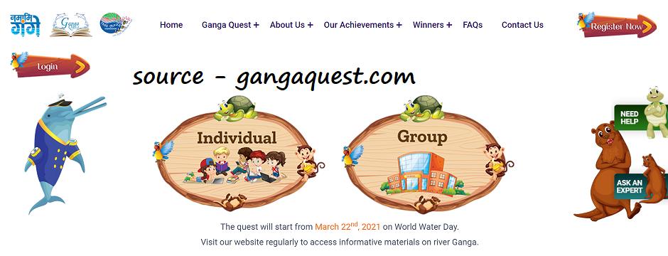 Ganga Quest Apply online 2021