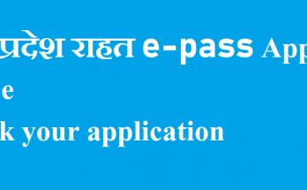 UP e Pass Status 2021 online